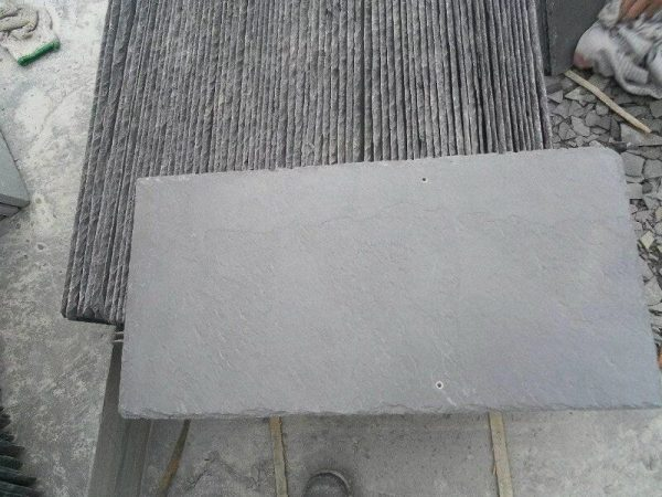 SY0018-Black Slate Culture Stone For Wall Cladding