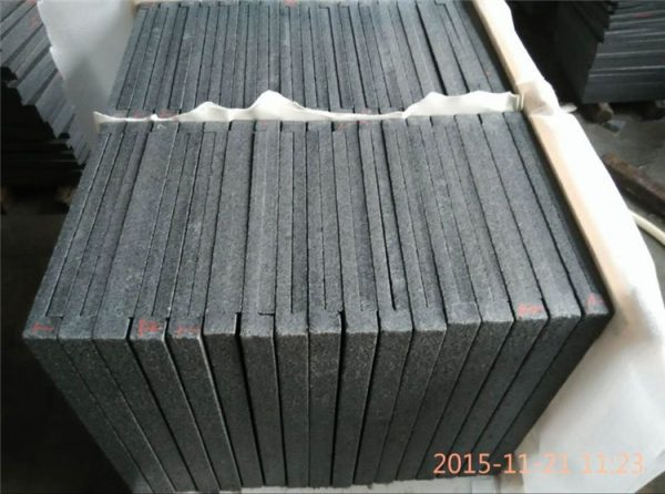 China Dark Grey G654 Granite Pool Coping Tiles