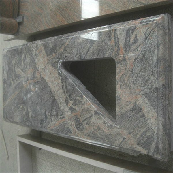 China Juparana Granite Polished Countertops