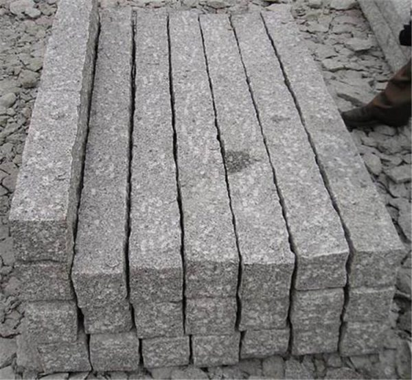 Cheap China Grey Granite G341 Kerbstone
