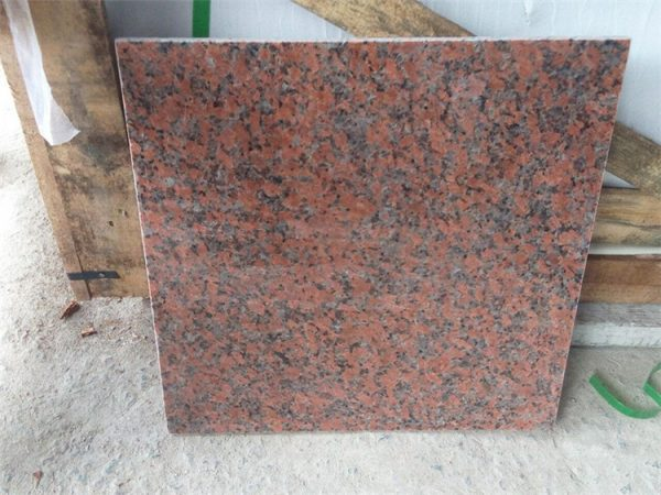 China G562 Maple Red Polished Slabs