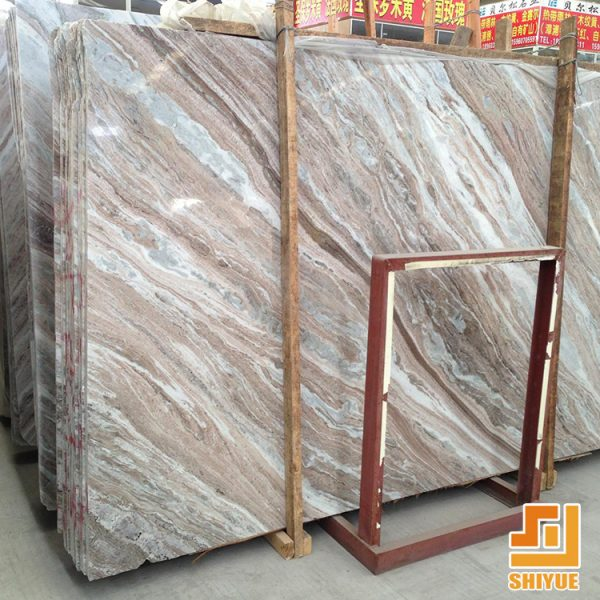China Cloudy White Marble Swimming Pool Paver Tiles