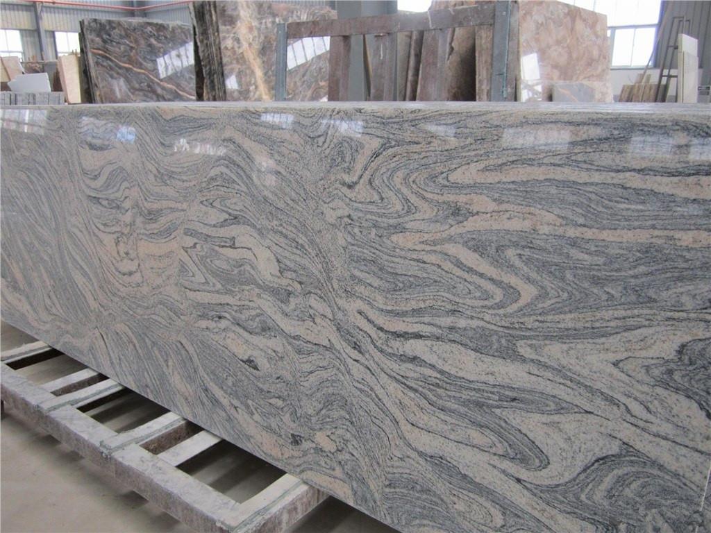 China Juparana Granite Gangsawn Slabs-ShiyueStone