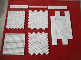 China Beautiful Andesite Moasic Wall Tiles