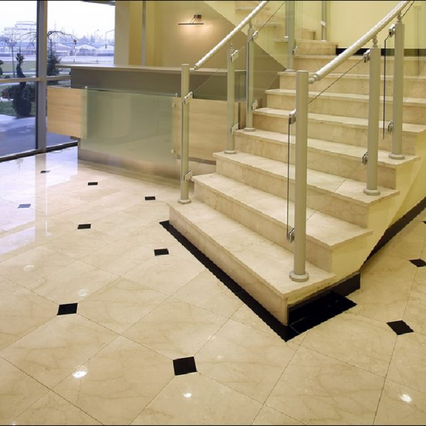 Spain Crema Marfil Marble Stairscase