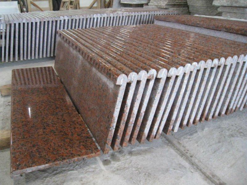 China G562 Maple Red Granite Countertop