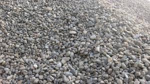 China garden decoration unpolished river pebble stone