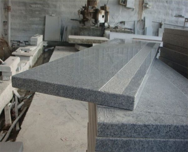 China G633 Granite Anti-Slip Polished Stairs