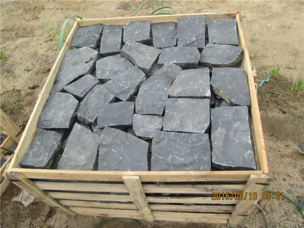 China ZP Black Basalt Paving Stone For Driveway