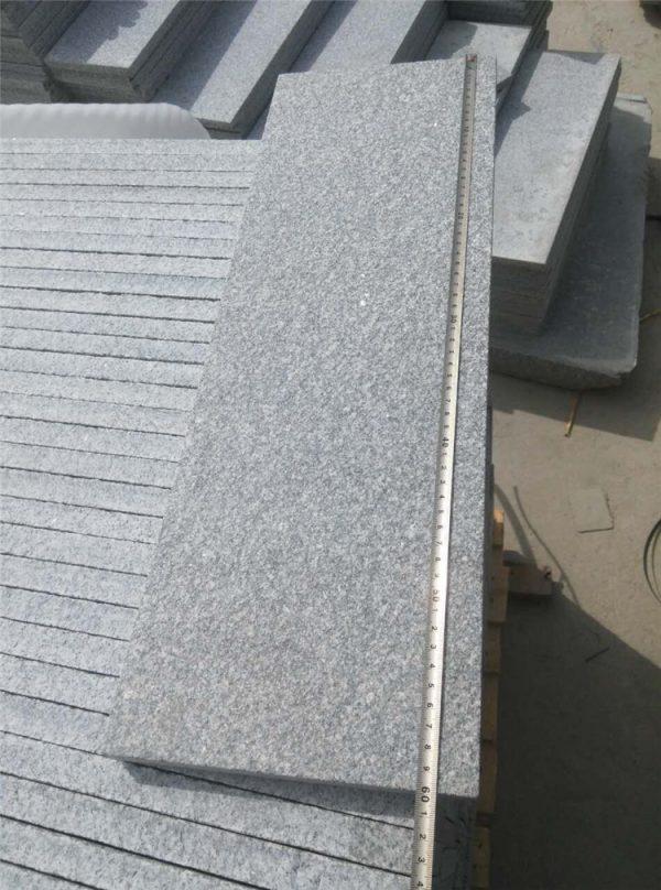 China Grey Granite G343 Flamed Tiles