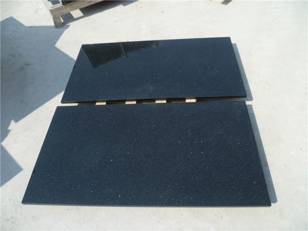 Black galaxy granite kitchen countertops