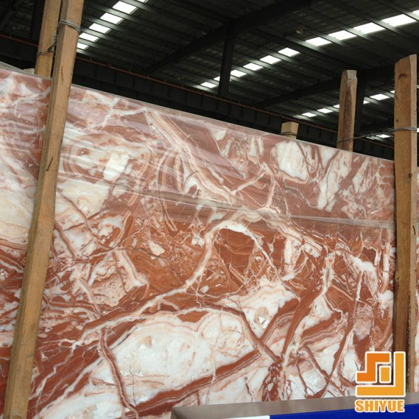 French red Marble Polished Big Slabs