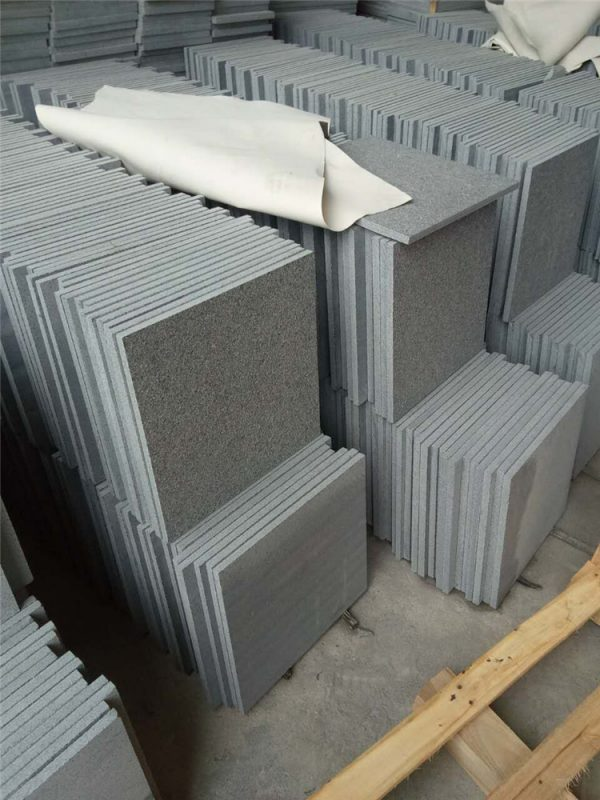 China G654 Flamed Tiles
